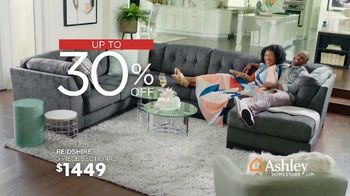 Ashley HomeStore President's Day Sale TV Spot, 'Havalance Queen Storage Bed' Song by Midnight Riot - Thumbnail 4