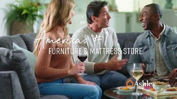 Ashley HomeStore President's Day Sale TV Spot, 'Havalance Queen Storage Bed' Song by Midnight Riot - Thumbnail 8