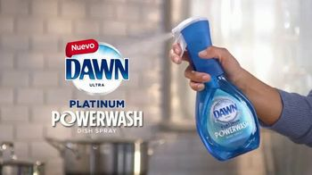 Dawn Ultra Platinum Powerwash TV Spot, 'Lava los platos más rápido' [Spanish] - Thumbnail 3