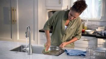 Dawn Ultra Platinum Powerwash TV Spot, 'Lava los platos más rápido' [Spanish]