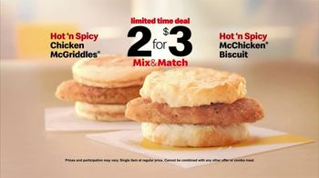 McDonald's 2 for $3 Mix and Match TV Spot, 'Shake Things Up: Hot 'n Spicy' - Thumbnail 7