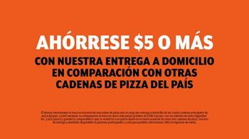 Little Caesars Pizza TV Spot, 'La mejor cosa después del pan rebanado' con Rainn Wilson [Spanish] - Thumbnail 7