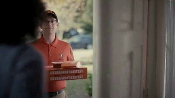 Little Caesars Pizza TV Spot, 'La mejor cosa después del pan rebanado' con Rainn Wilson [Spanish] - Thumbnail 2
