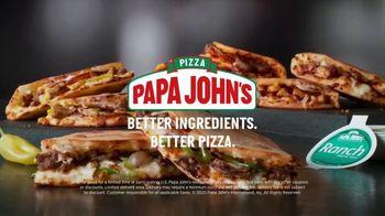 Papa John's Papadias TV Spot, 'Do You Want Cheese' - Thumbnail 8
