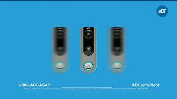 ADT Smart Home Security Sale TV Spot, 'Video Doorbell and Echo Dot'