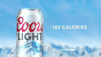 Coors Light TV Spot, 'Crack Open Mountain Cold Refreshment' Song by Berry Lipman Singers - Thumbnail 6