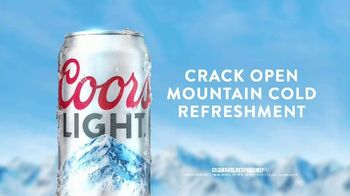 Coors Light TV Spot, 'Crack Open Mountain Cold Refreshment' Song by Berry Lipman Singers - Thumbnail 5