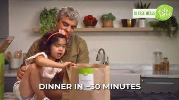 HelloFresh Valentine's Flash Sale TV Spot, 'Monica, Matt & Olive: 10 Free Meals' - Thumbnail 4