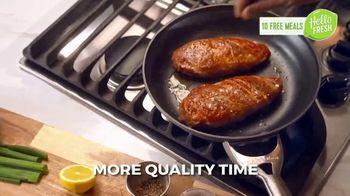 HelloFresh Valentine's Flash Sale TV Spot, 'Monica, Matt & Olive: 10 Free Meals' - Thumbnail 6