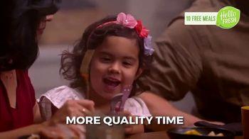 HelloFresh Valentine's Flash Sale TV Spot, 'Monica, Matt & Olive: 10 Free Meals' - Thumbnail 7