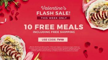 HelloFresh Valentine's Flash Sale TV Spot, 'Monica, Matt & Olive: 10 Free Meals' - Thumbnail 9
