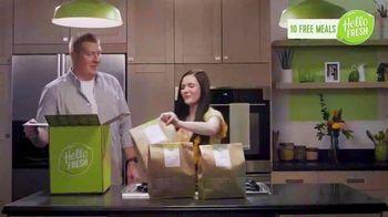 HelloFresh Valentine's Flash Sale TV Spot, 'Margaret and Nick: 10 Free Meals'