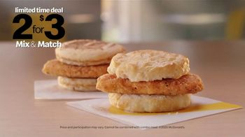McDonald's 2 for $3 Mix & Match, 'Wake Up Breakfast: Change Your Life' - Thumbnail 9
