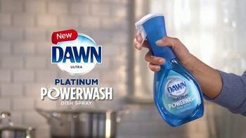 Dawn Platinum Power Wash TV Spot, 'Spray, Wipe & Rinse' - Thumbnail 2