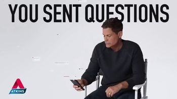 Atkins TV Spot, 'Questions: Peanut Butter Cups' Featuring Rob Lowe