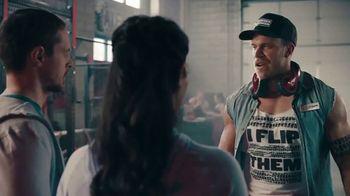 Planet Fitness TV Spot, 'Truck Tire Gym'