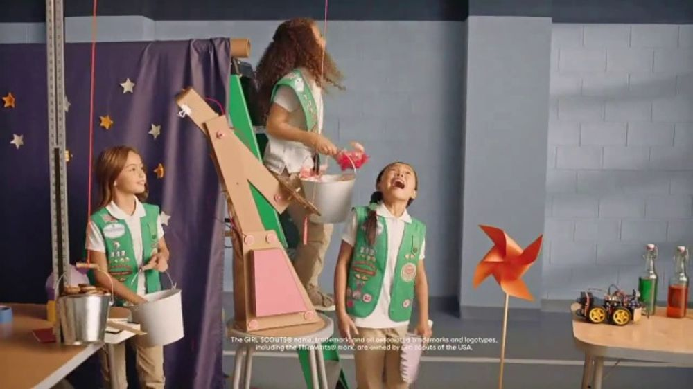 Dunkin' Girl Scout Inspired Flavors TV Commercial, 'Ingenuity'