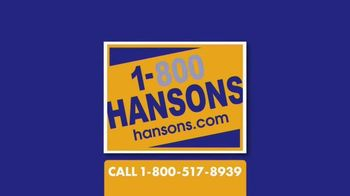 1-800-HANSONS TV Spot, 'Cure for Escaping the Winter Cold: 50 Percent Off Installation' - Thumbnail 7