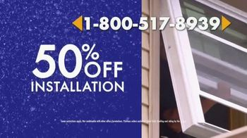 1-800-HANSONS TV Spot, \'Cure for Escaping the Winter Cold: 50 Percent Off Installation\'