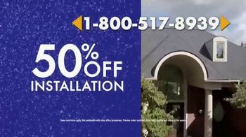 1-800-HANSONS TV Spot, 'Cure for Escaping the Winter Cold: 50 Percent Off Installation' - Thumbnail 6