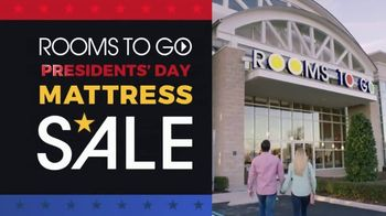 Rooms to Go Presidents Day Mattress Sale TV Spot, 'Find Your Perfect Set'