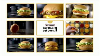 McDonald's Buy One Get One for $1 TV Spot, 'Back to the Classics: Everyday Value' - Thumbnail 3