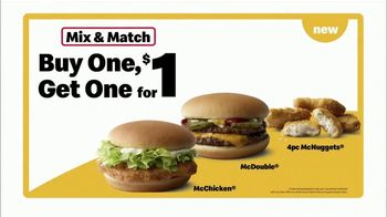 McDonald's Buy One Get One for $1 TV Spot, 'Back to the Classics: Everyday Value' - Thumbnail 9