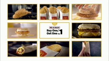 McDonald's Buy One Get One for $1 TV Spot, 'Back to the Classics' - Thumbnail 3