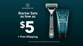 Dollar Shave Club Starter Sets TV Spot, 'Cover All Your Grooming Needs' - Thumbnail 9