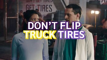 Planet Fitness TV Spot, 'Flip Truck Tires: 25 Cents Down, $10 a Month' - Thumbnail 6