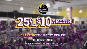 Planet Fitness TV Spot, 'Flip Truck Tires: 25 Cents Down, $10 a Month' - Thumbnail 9