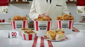 KFC $20 Fill Ups TV Spot, 'Alimenta a tu familia' [Spanish] - 1894 commercial airings