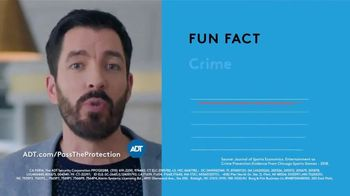 ADT Pass the Protection TV Spot, 'Crime Goes Down' Featuring Jonathan and Drew Scott'