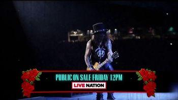 Guns N' Roses Return Tour TV Spot, 'Tickets on Sale' - Thumbnail 9