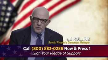 Great America PAC TV Spot, 'Only Months Away' Featuring Ed Rollins - 1 commercial airings