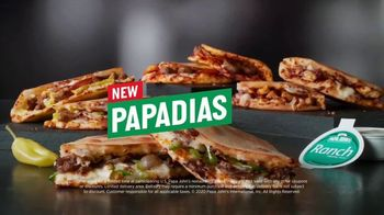 Papa John\'s Papadias TV Spot, \'Better Than a Sandwich\'