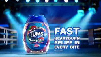 Tums Chewy Bites TV Spot, 'Tums vs. Mozzarella Stick' - Thumbnail 9