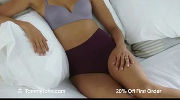 Tommy John TV Spot, 'Valentine's Day: Comfortable and Luxurious' - Thumbnail 2