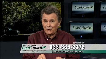 LeafGuard of Seattle Winter Half Off Sale TV Spot, 'What's in Your Gutters' - 7 commercial airings