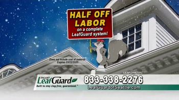 LeafGuard of Seattle Winter Half Off Sale TV Spot, 'What's in Your Gutters' - Thumbnail 5