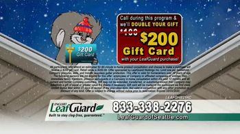 LeafGuard of Seattle Winter Half Off Sale TV Spot, 'What's in Your Gutters' - Thumbnail 7