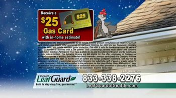 LeafGuard of Seattle Winter Half Off Sale TV Spot, 'What's in Your Gutters' - Thumbnail 8