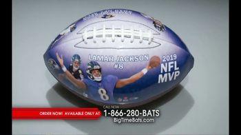 Big Time Bats TV Spot, 'Lamar Jackson 2019 NFL MVP Art Football' - Thumbnail 2