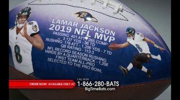 Big Time Bats TV Spot, 'Lamar Jackson 2019 NFL MVP Art Football' - Thumbnail 3