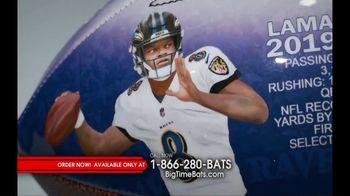 Big Time Bats TV Spot, 'Lamar Jackson 2019 NFL MVP Art Football' - Thumbnail 5