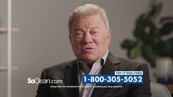SoClean TV Spot, 'Sleep Disorder' Featuring William Shatner