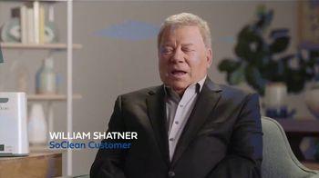 SoClean TV Spot, 'Sleep Disorder' Featuring William Shatner - Thumbnail 1