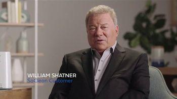 SoClean TV Spot, 'Sleep Disorder' Featuring William Shatner - Thumbnail 2