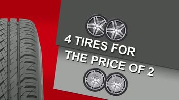 Big O Tires Buy Two Tires, Get Two Free Sale TV Spot, 'Once a Year' - Thumbnail 6