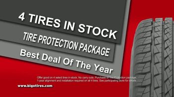Big O Tires Buy Two Tires, Get Two Free Sale TV Spot, 'Once a Year' - Thumbnail 2